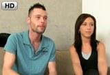 Mladý český pár Simona a Luděk na porno castingu s Celine Noiret – HD porno